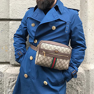 Top trench & bag swag