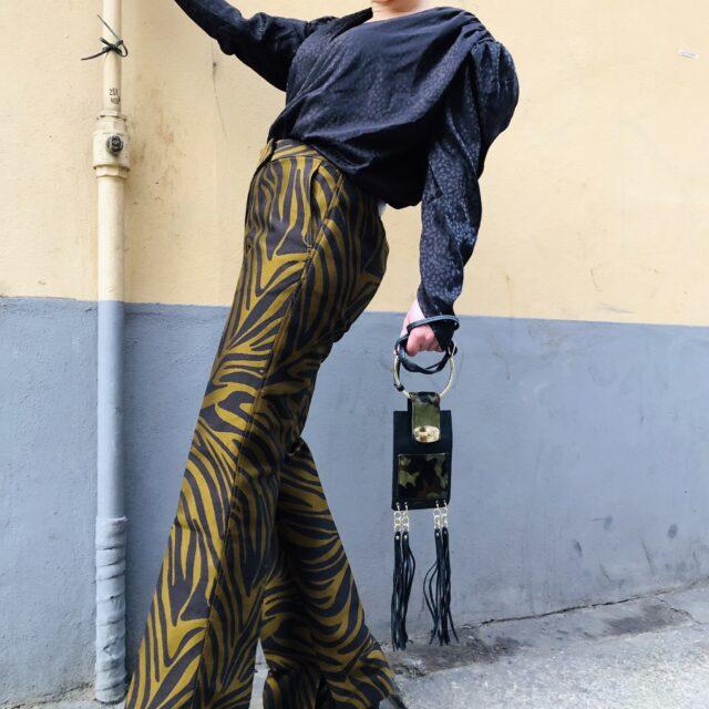 Fancy Pants & Big Shoulders